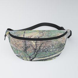 12,000pixel-500dpi Richard Gerstl - Route of the rack railway to the Kahlenberg - Digital Remastered Fanny Pack