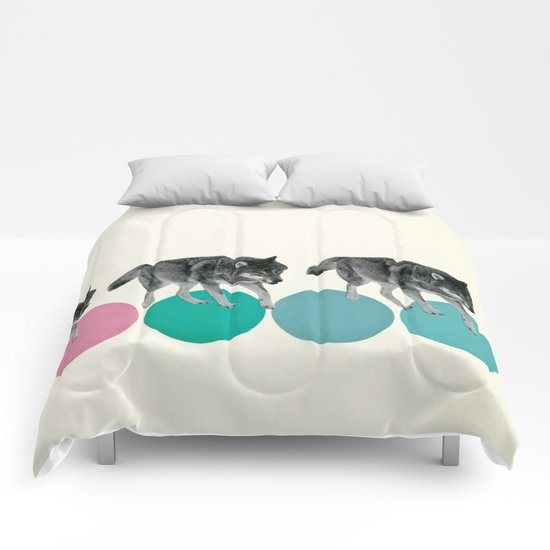 Hungry Wolves Comforters