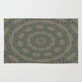Wind Wave Kaleidoscope Rug