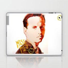 Miss me? - Jim Moriarty Laptop & iPad Skin