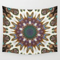 aztec Wall Tapestries featuring Aztec by IowaShots