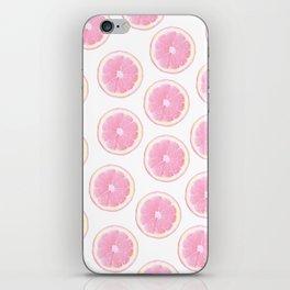 Pink Fruit iPhone Skin