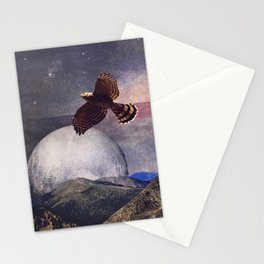 Hawk Moon Stationery Cards