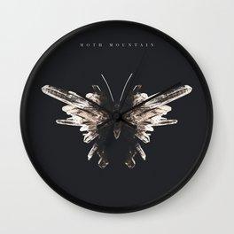 'Moth Mountain' Album Cover  Wall Clock