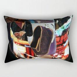 Night Time Shopping Rectangular Pillow