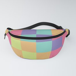 Kids abstract geometry pattern Fanny Pack