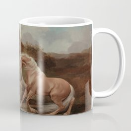 George Stubbs - Horse Frightened by a Lion Coffee Mug