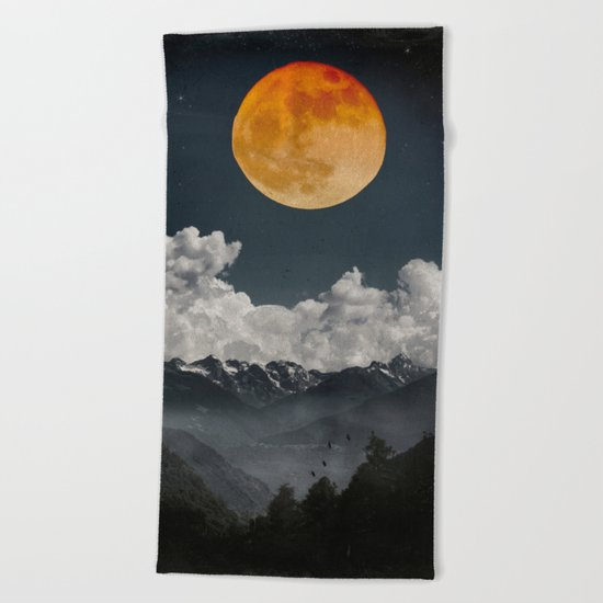 Moon Melodies Beach Towel