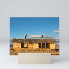 Derelict shack. Mini Art Print