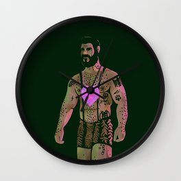 Octobear (love alternative) Wall Clock