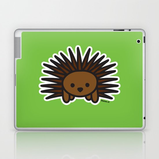 Cute Hedgehog Laptop & iPad Skin