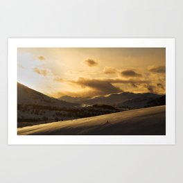 The Cairngorms National Park Art Print