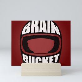 Brain bucket Mini Art Print