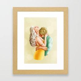You Leave Me Breathless - Nikolina Framed Art Print