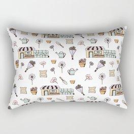 Flower Shop Rectangular Pillow