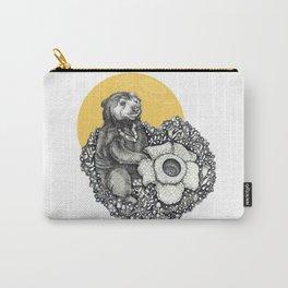 Honey Sun Bear Carry-All Pouch