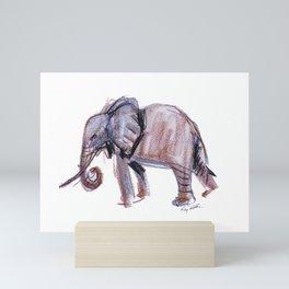 Elephant         by Kay Lipton Mini Art Print
