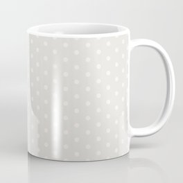 Pink Polka Grey Coffee Mug