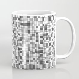 Gray Scale Grid - There's Nothing Left Coffee Mug