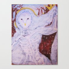 Snow Spirit Canvas Print