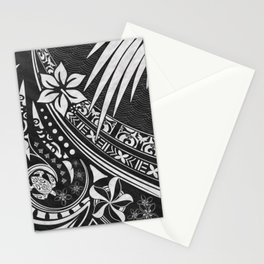 Black Ink Tribal Threads Stationery Cards