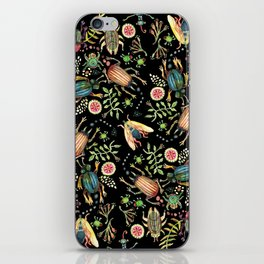 Bugs Beetles and Beauty iPhone Skin
