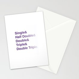 Crochet Helvetica Ampersand Style Stationery Cards