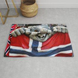 Norwegian Troll Photography Rug