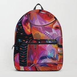 Steve Urkel Pop Canvas Print Backpack