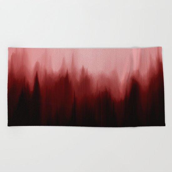 Blood Pines Beach Towel
