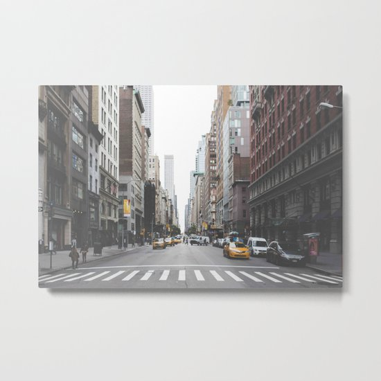 Urban Adventure NYC Metal Print