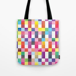 Modern Quilt - Summer Bright Tote Bag