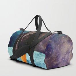 Little Brown Rocket Duffle Bag