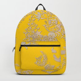 yellow tattoo Backpack