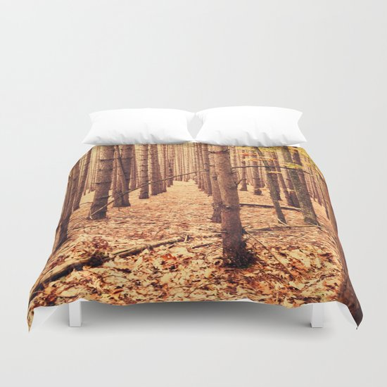 A Cathedral of Trees Duvet Cover