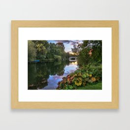 The Thames At Pangbourne Framed Art Print
