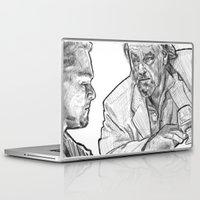 rat Laptop & iPad Skins featuring rat by BzPortraits