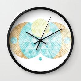 Sing To The Sun Wall Clock