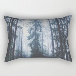 The mighty pines Rectangular Pillow
