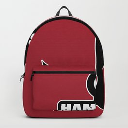 Hanseatic city of Hamburg anchor northern light gift Backpack