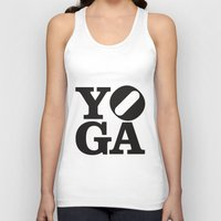 yoga Tank Tops featuring YoGA by CGould