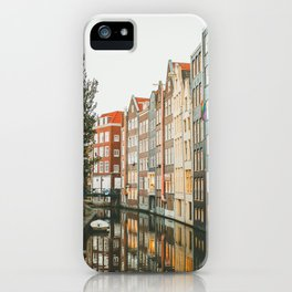 Amsterdam Canals iPhone Case