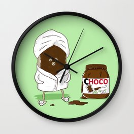 Pamper yourself Wall Clock