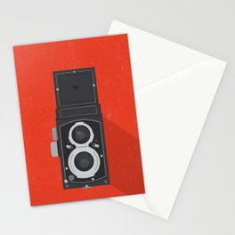 Classic TLR camera Stationery Cards