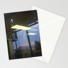 #160photo #177 #Thunder and #Rain today /  #BeautifulSolitude / #Jacarandas #LightReflection Stationery Cards