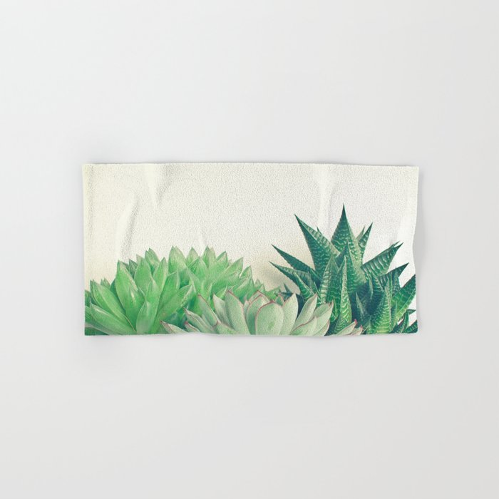 Succulent Forest Hand & Bath Towel