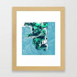 OrbitalFleets Crew Series: No.2 Framed Art Print