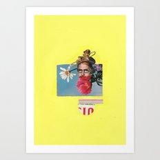 Poppy Man  Art Print