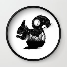 THE SQUIRREL Wall Clock