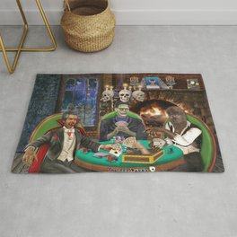 Our Favorite Monsters Playing Cards Rug